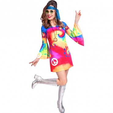 Costume Adult Hippie Free...