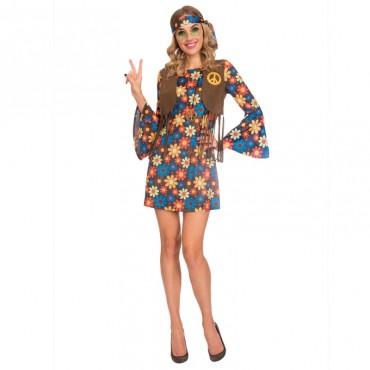Costume Adult Hippie Groovy...