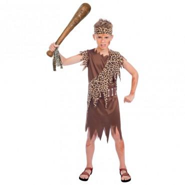 Costume Child Caveboy 8-10