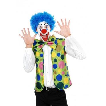 Dress Up Kit Clown Vest Bow...
