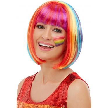 Wig Bob Rainbow