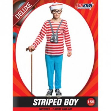 Costume Child Where's Wally...