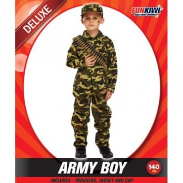 Costume Child Army Boy 155