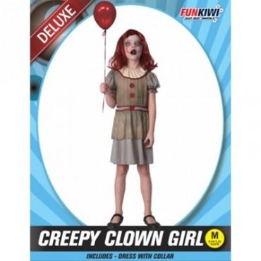 Costume Child Creepy Clown...