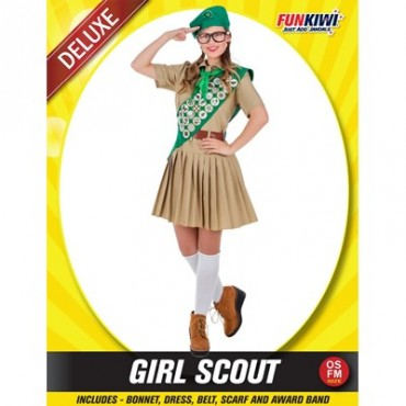 Costume Adult Girl Scout