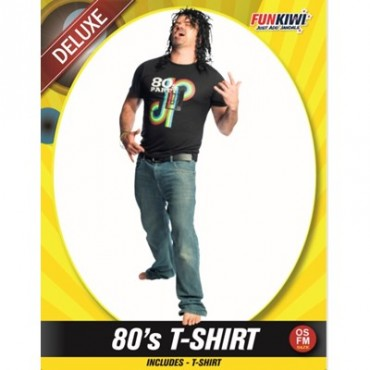 Costume Adult 80's Shirt Male