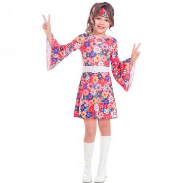 Costume Child Hippie Miss...