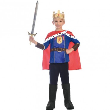 Costume Child King 5-7
