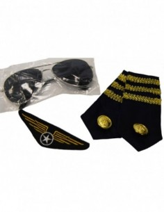 Dress Up Kit Pilot Aviator