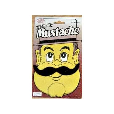 Moustache Black 11
