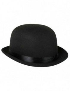 Hat Bowler Feltex Black