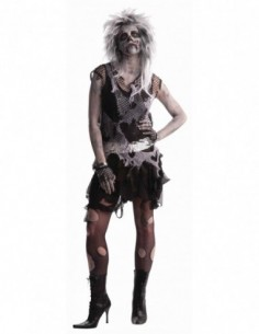 Costume Adult Lady Zombie Punk