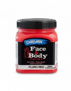 Face Paint 250Ml Fluro Red...