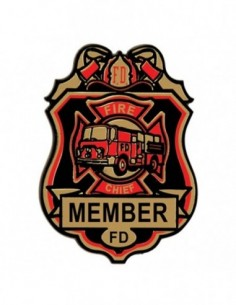 Badges Fire Chief
