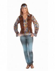 Costume Adult Hippie Lady Vest