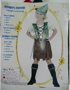 Costume Child Robin Hood Girl
