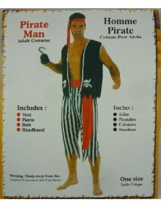 Costume Adult Pirate Man...