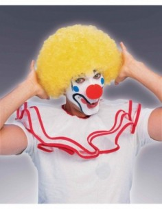 Wig Afro Clown Yellow