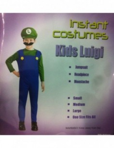 Costume Child Luigi