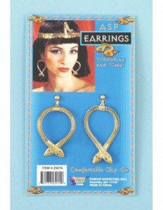 Egyptian Snake Earings