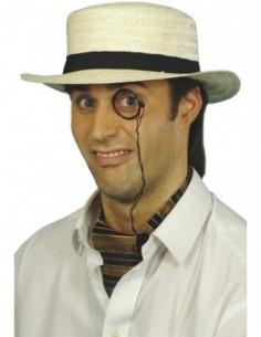 Hat Bowler Straw