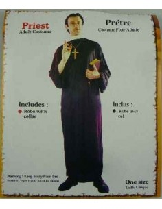 Costume Adult Priest