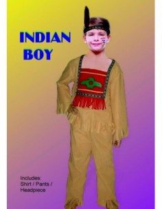 Costume Child Indian Boy