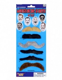 Moustache Card Assorted ONE...