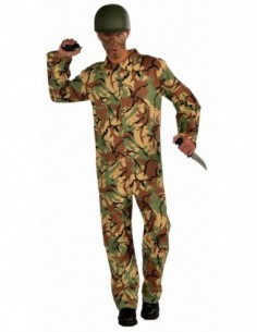 Costume Adult Army Jumpsuit