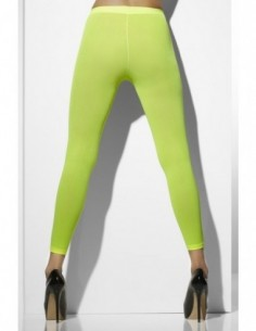 Tights Footless Neon Green...