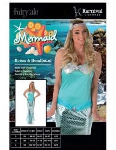 Costume Adult Mermaid L