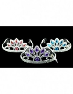 Tiara Silver with Diamond...
