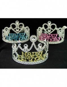 Tiara Happy Birthday Assorted