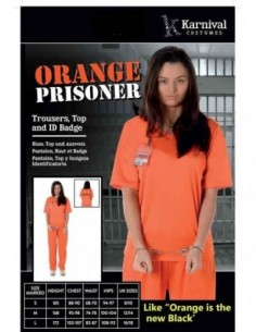 Costume Adult Prisoner...