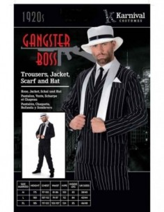 Costume Adult Gangster Boss M
