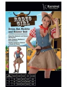 Costume Adult Rodeo Girl M