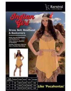 Costume Adult Indian Lady L