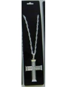 Jewellery Cross Silver Chain