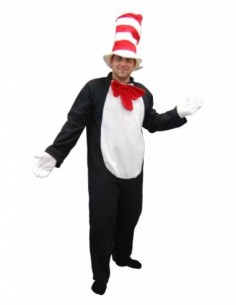 Costume Adult Cat In The Hat