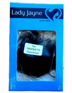 Hair Nets Dark Brown Pk2