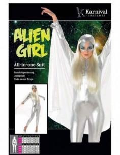 Costume Adult Alien Female M
