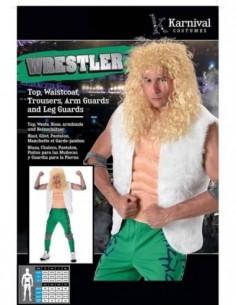 Costume Adult Wrestler M