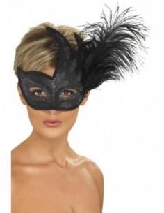 Mask Columbina Ornate Black...