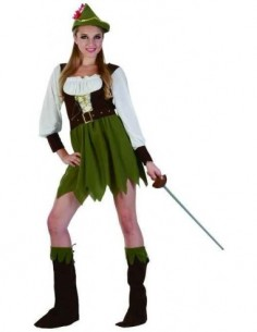 Costume Adult Hunter Female SM