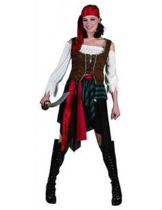 Costume Adult Pirate Female...