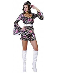 Costume Adult Disco Girl SM