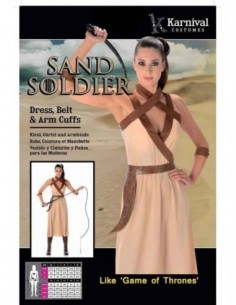 Costume Adult Sand Soilder M