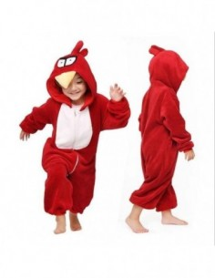 Onesie Child Red Bird