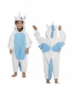 Onesie Child Unicorn Blue