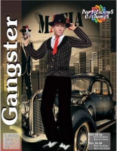 Costume Adult Gangster Male...